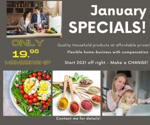 Watkins January Specials