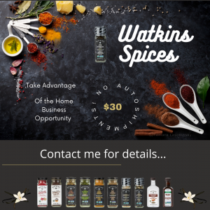 watkins spices and home business