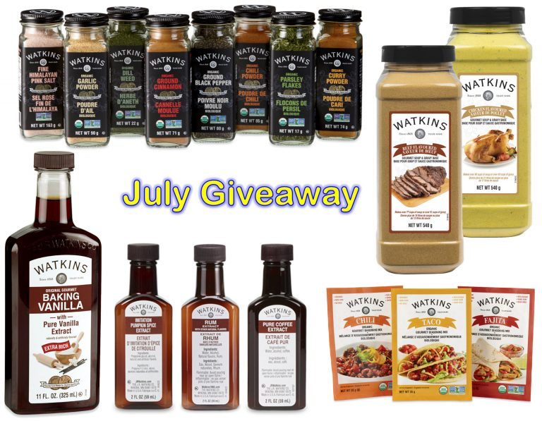Win FREE Watkins Products Contest